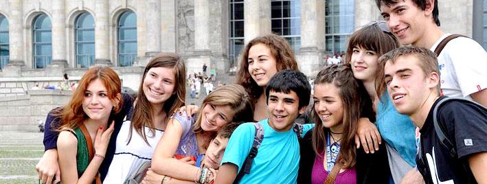 Junge Studenten