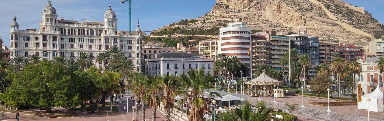 Alicante Altstadt und Promenade