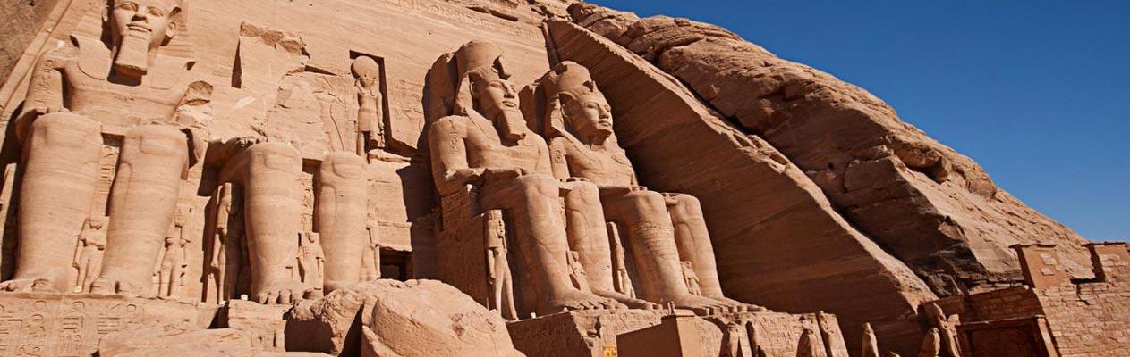 Tempel von Abu Simbel in Ägypten