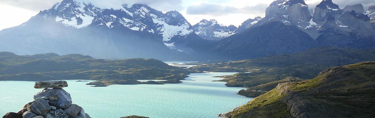 Argentinsche Landschaft mit Bergen