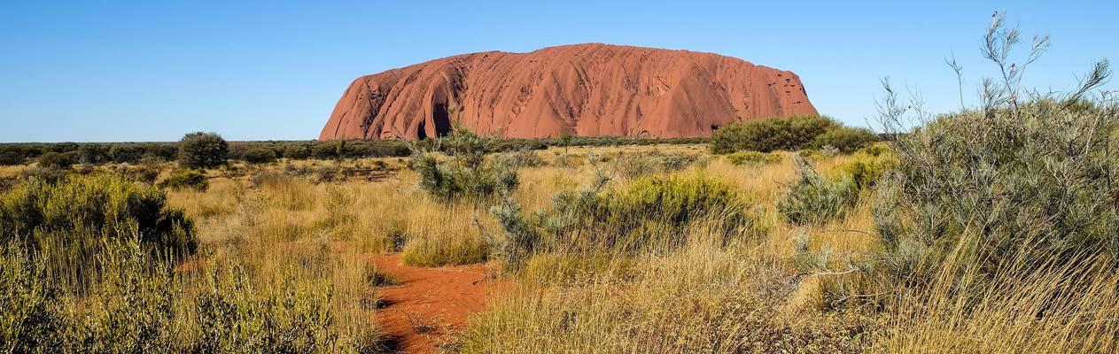 Uluru - Ayers Rock in Australien
