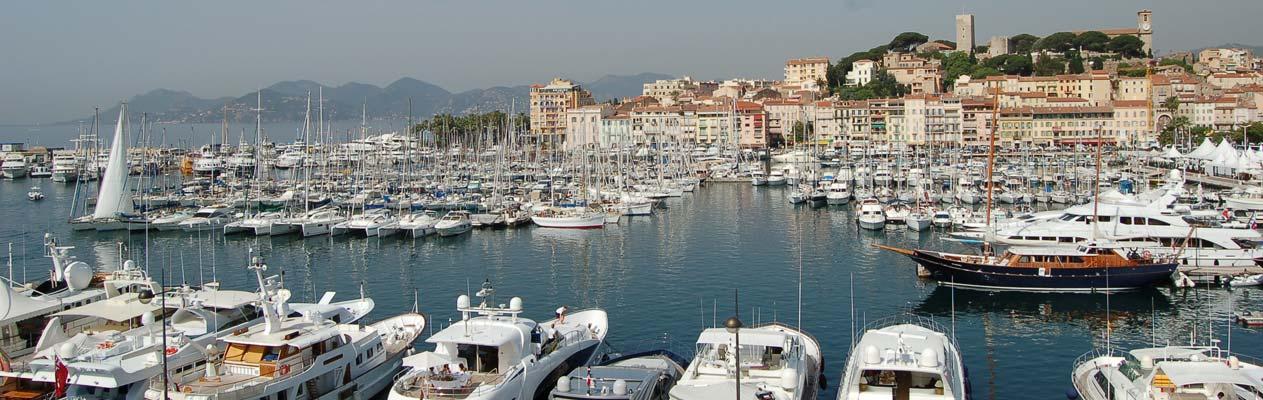 Port de Cannes Yachthafen, Cannes, Frankreich