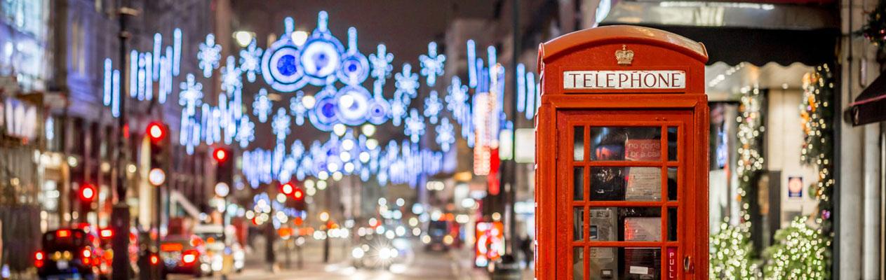 Englisch-Weihnachtskurs  in London