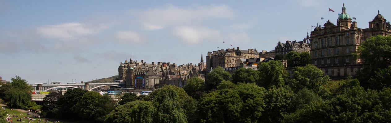 Klub 50+ Englischkurs, Edinburgh