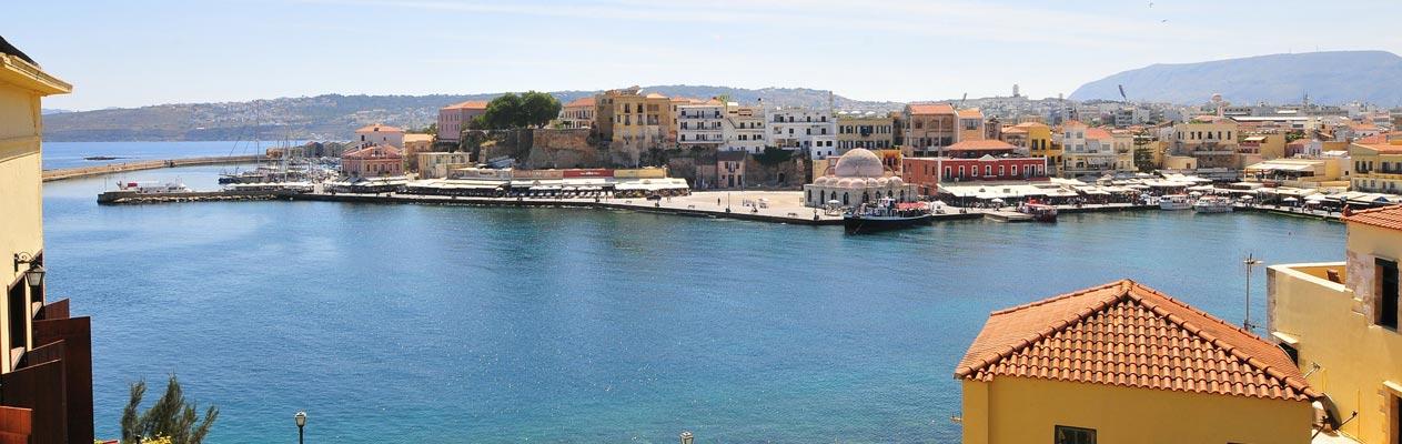 Hafen in Chania, Kreta