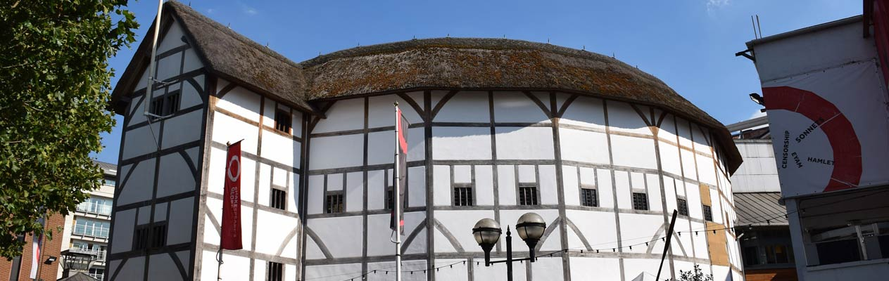 Shakespeare's Globe in London, England