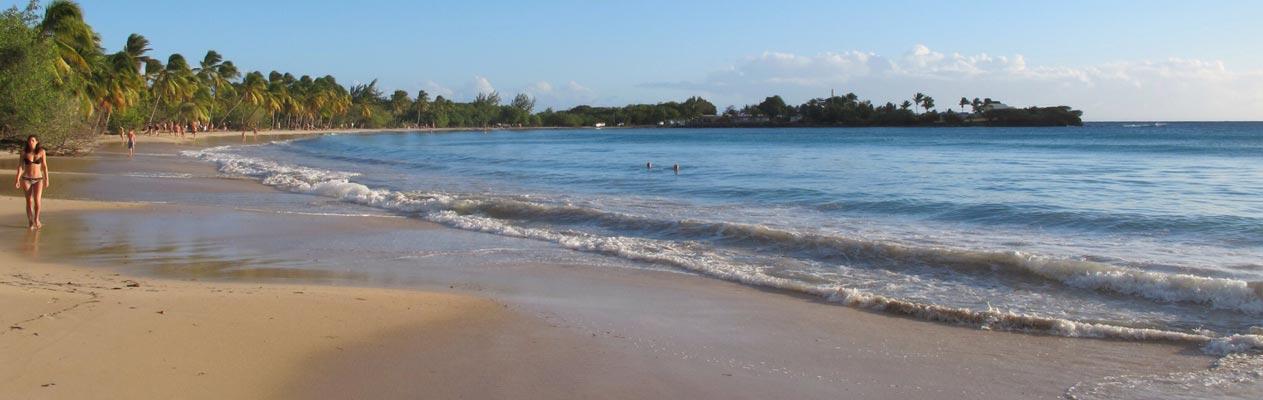 Strand in der Nähe von Fort-de-France, Martinique