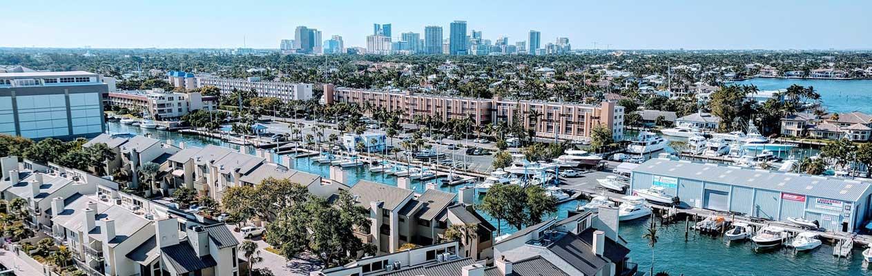 Fort Lauderdale und Yachthafen