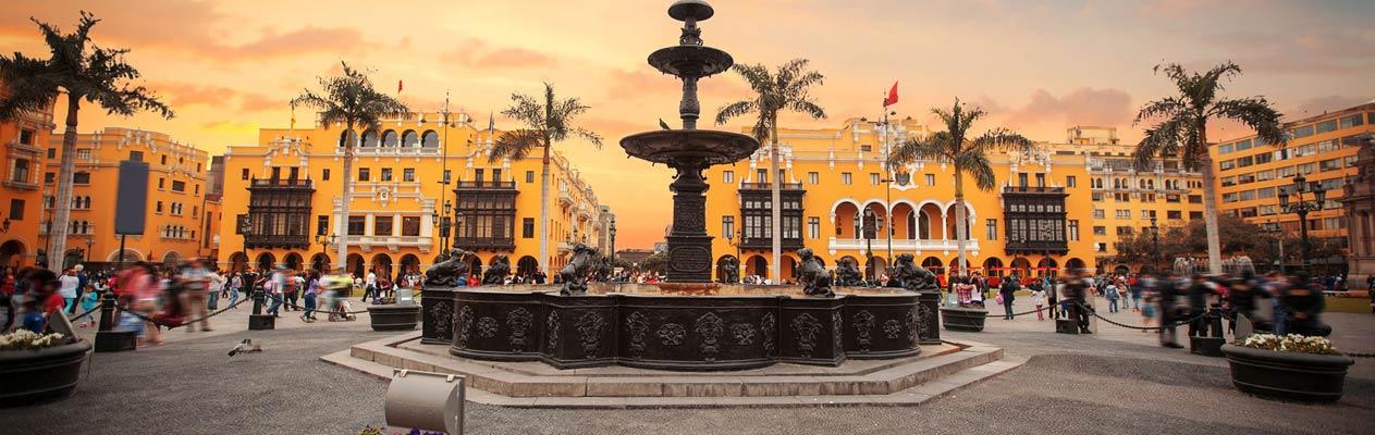 Innenstadt von Lima , Hauptstadt von Peru