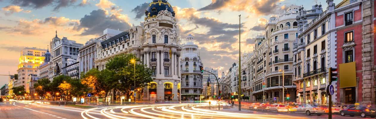 Madrid, Hauptstadt von Spanien
