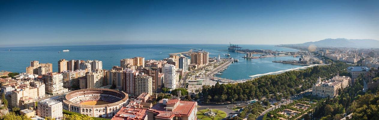 Malaga, Andalusien, Spanien