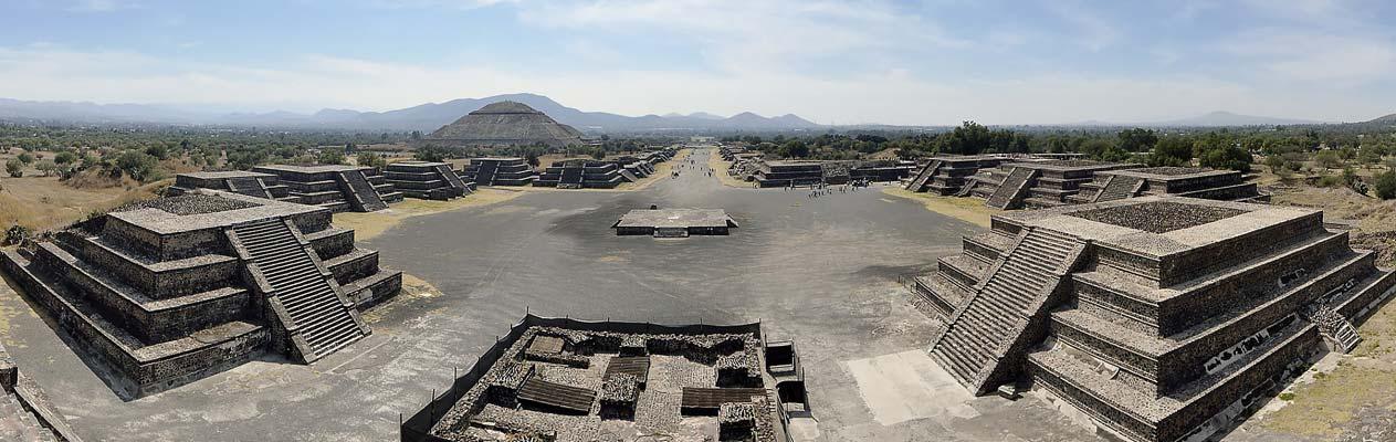 Sonnenpyramide von Teotihuacán, Mexico