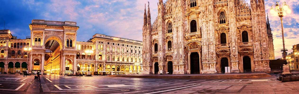 Mailänder Dom und die Galleria Vittorio Emanuele II