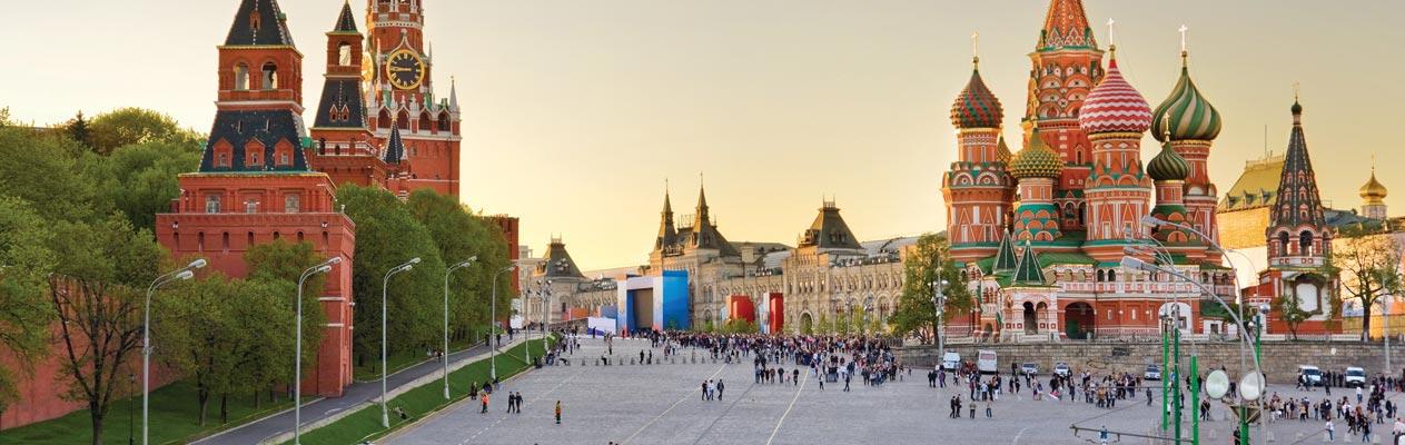 Die Basilius-Kathedrale in Moskau, Russland