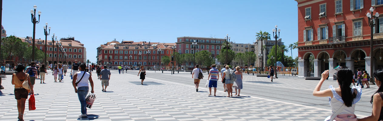 Place Massena, Nizza, Frankreich