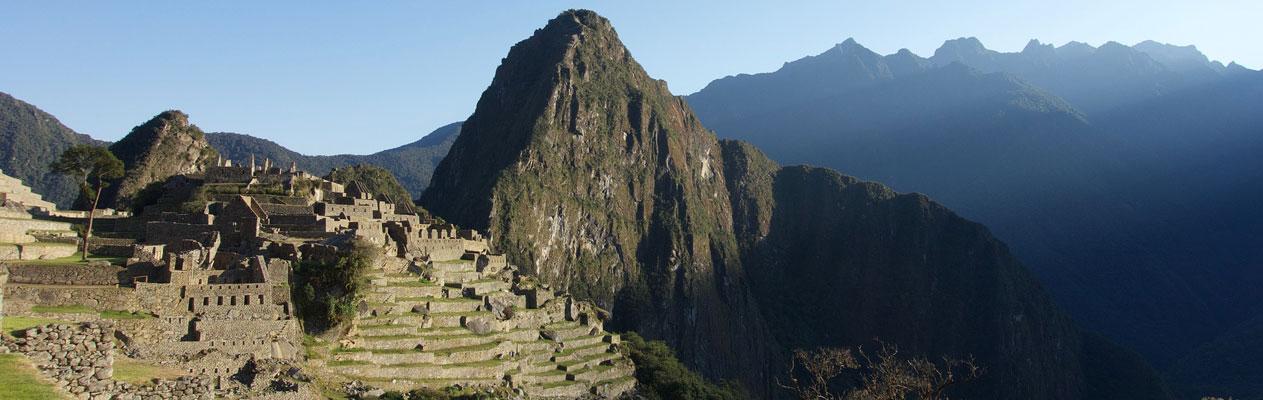 Machu Picchu, Gebirgslandschaft in Peru