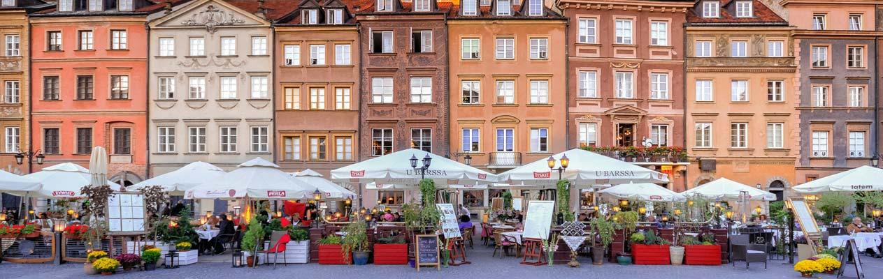 Alter Marktplatz in Warschau