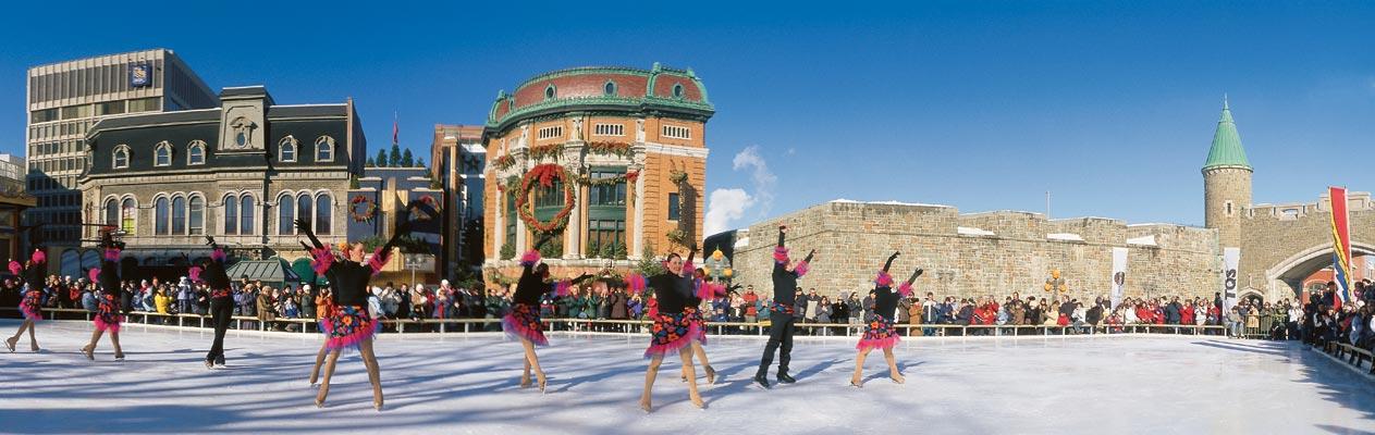 Festlichkeiten in Quebec, Kanada