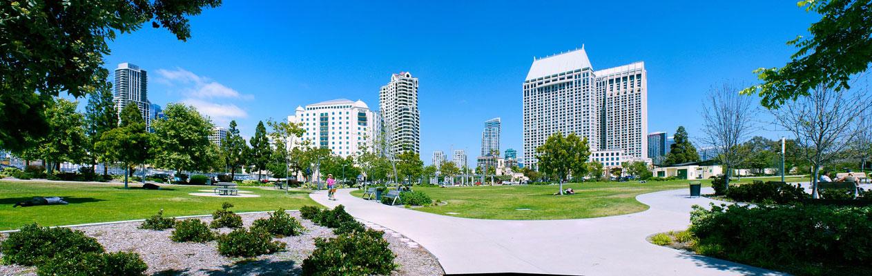 Downtown San Diego, Kalifornien
