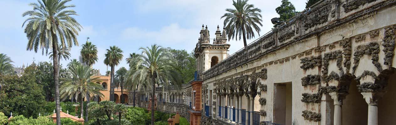 Plaza de España, Parque de María Luisa in Sevilla, Spanien