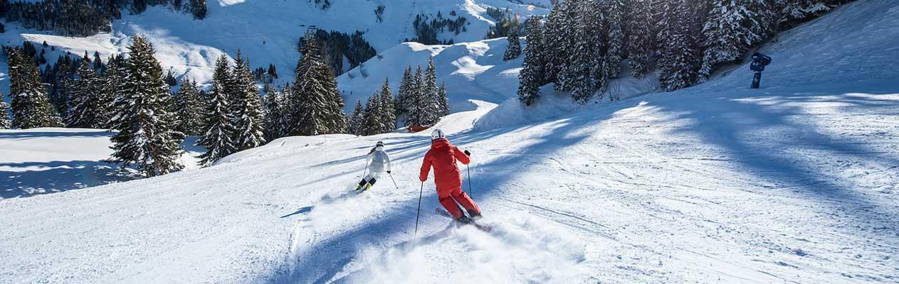 Deutsch lernen und Ski fahren in Kitzbühel