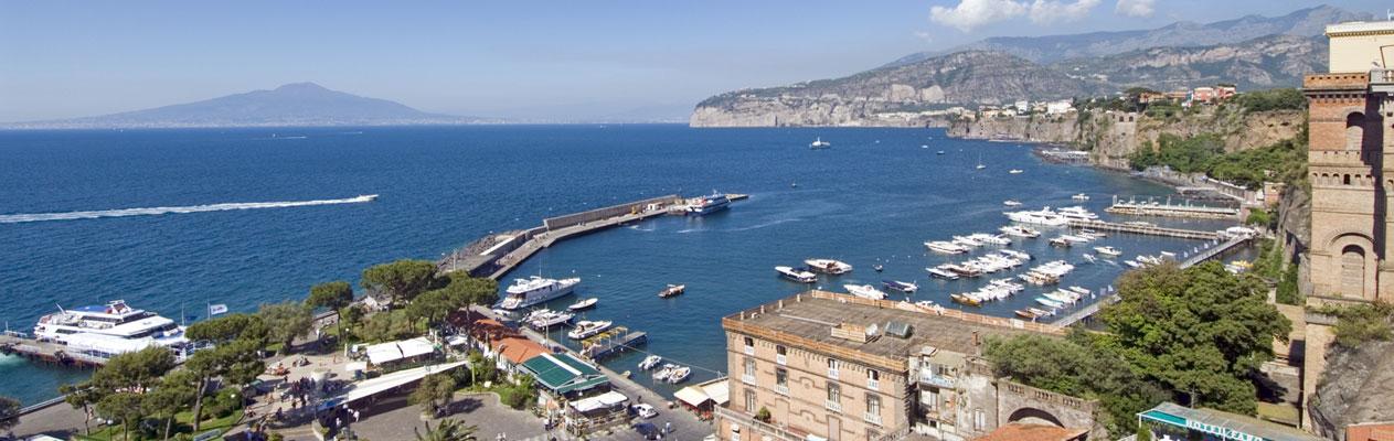 Sorrent, Bucht von Neapel, Italien