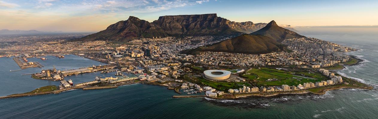 Kapstadt und der Tafelberg, Südafrika