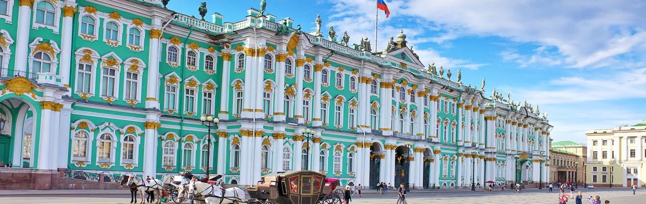 Die Ermitage in St. Petersburg, Russland