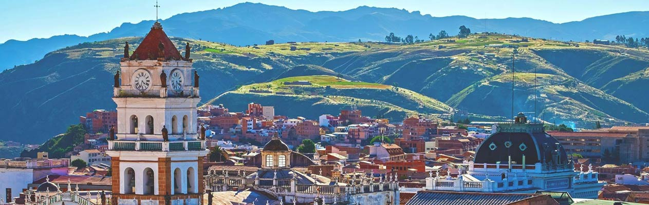 Sucre, Hauptstadt von Bolivien