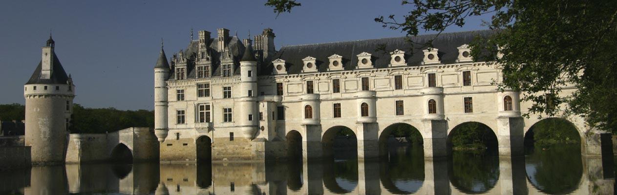 Château de Chenonceau, in der Nähe von Tours in Frankreich