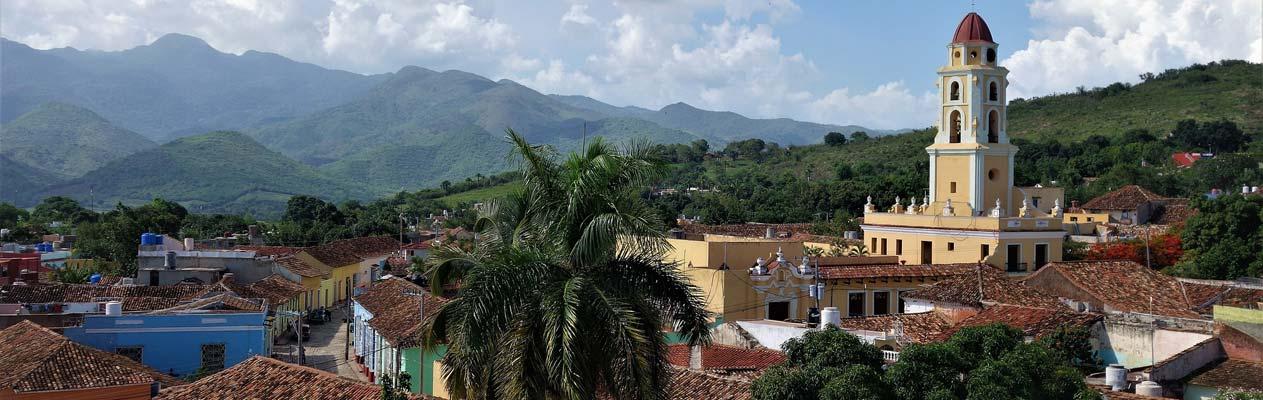 Ausblick auf Trinidad in Kuba