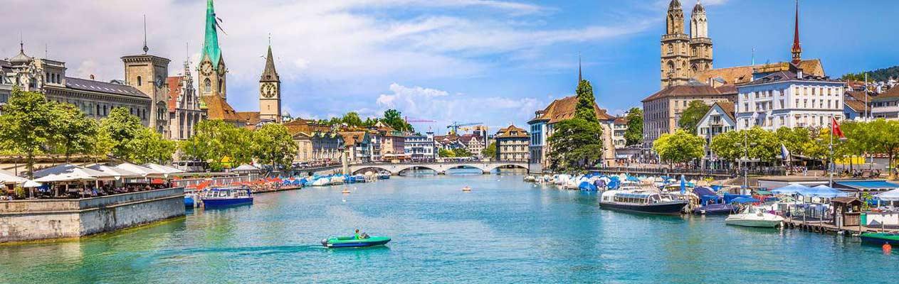 Zürich, die größte Stadt der Schweiz